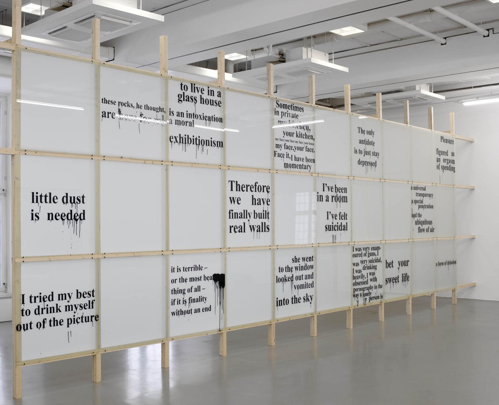 Monica Bonvicini - Kunsthalle Fridericianum / Kassel / 2010